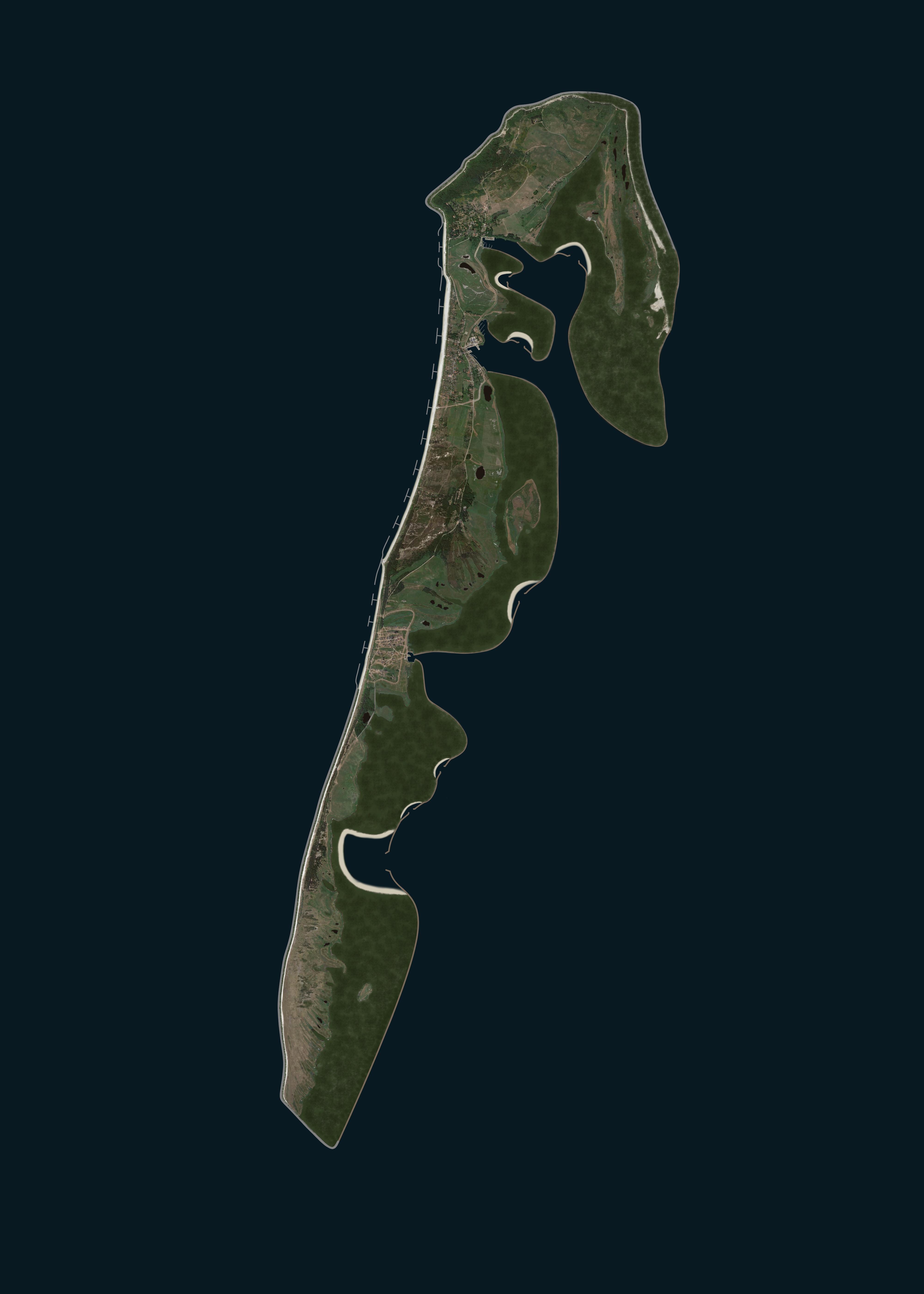 Hiddensee, landgewinnung, küstenschutz, insel, eindeichung, naturschutz, sturmflut, vergrößerung