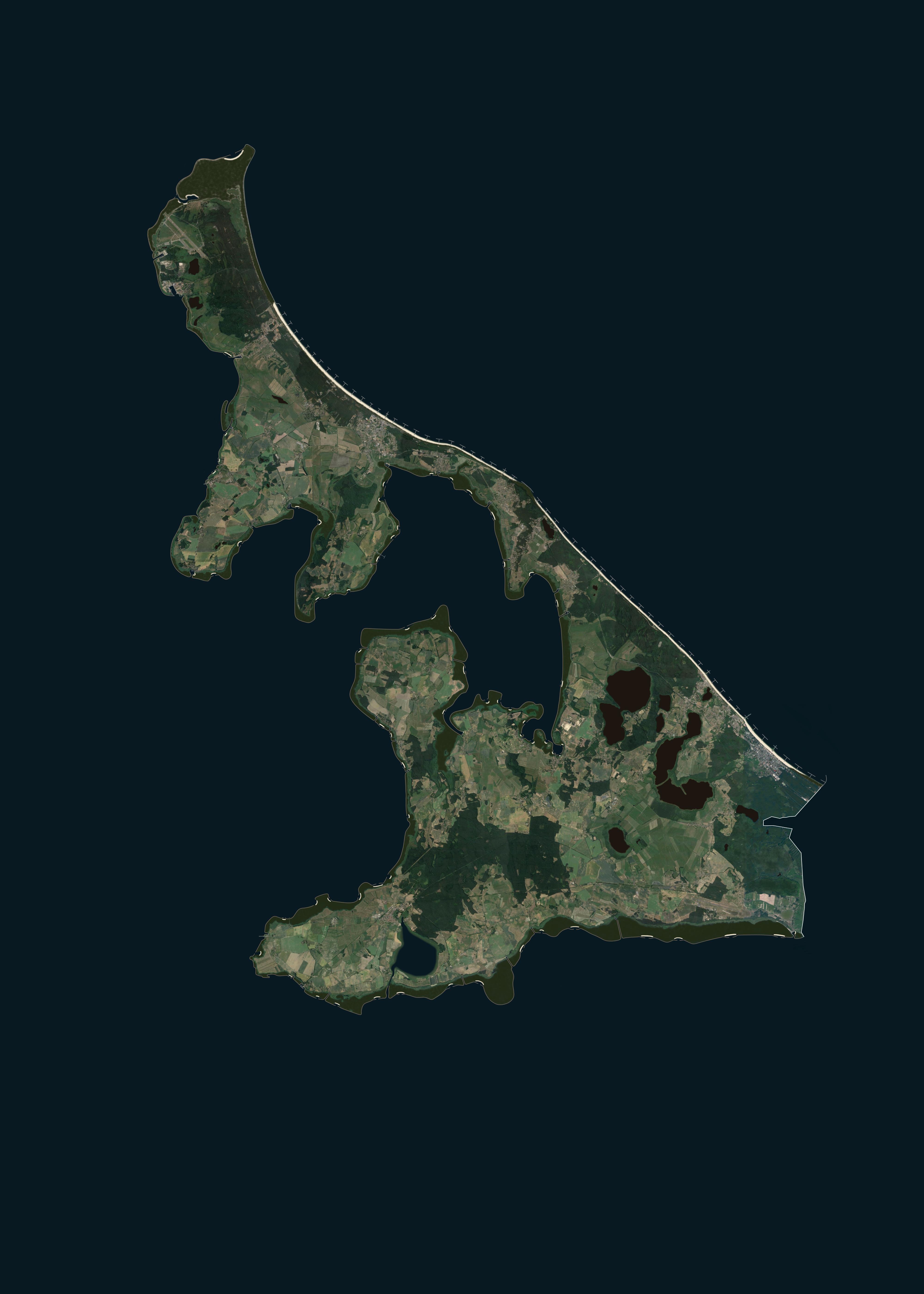 Usedom, landgewinnung, küstenschutz, insel, eindeichung, naturschutz, sturmflut, vergrößerung
