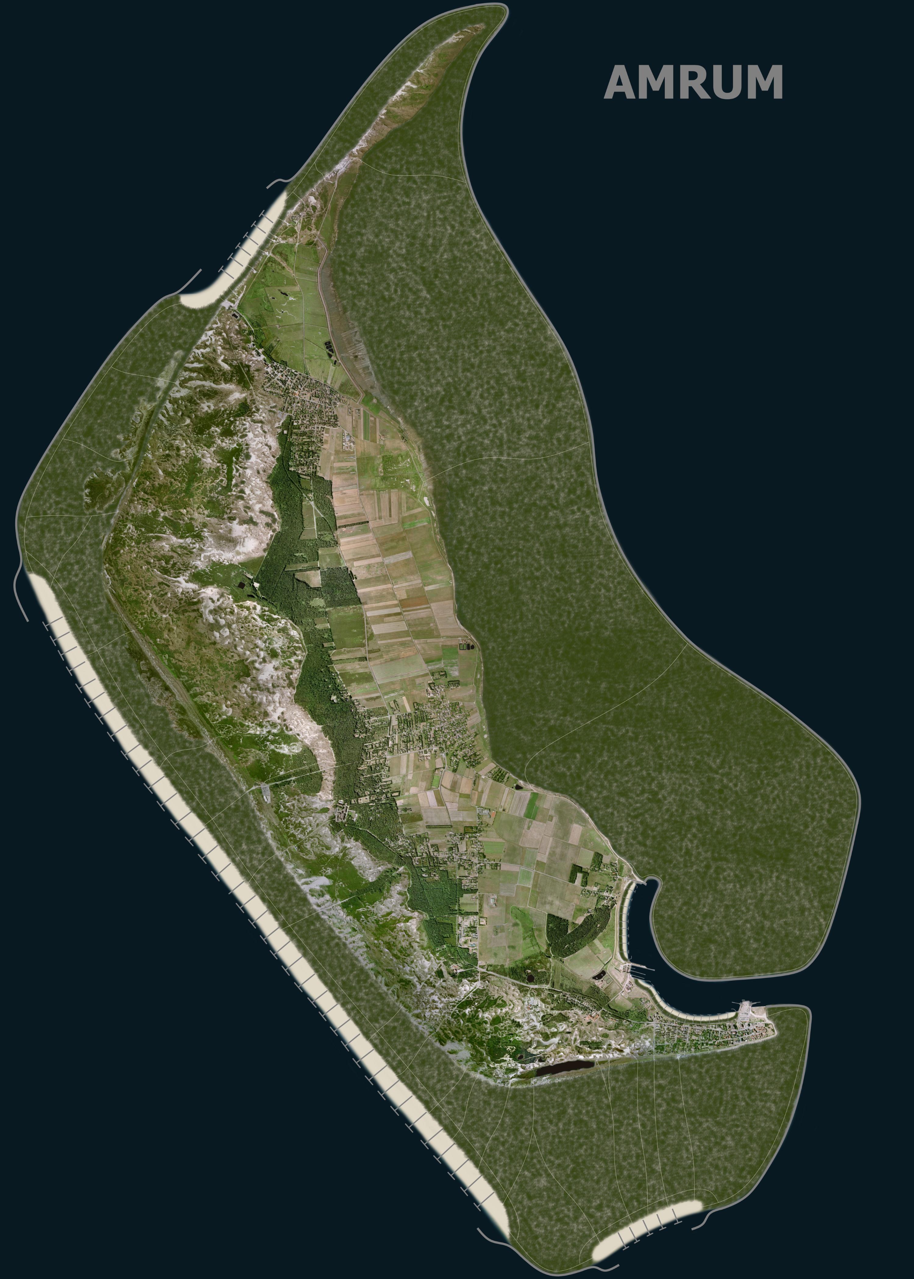 Amrum, landgewinnung, küstenschutz, insel, eindeichung, naturschutz, sturmflut, vergrößerung
